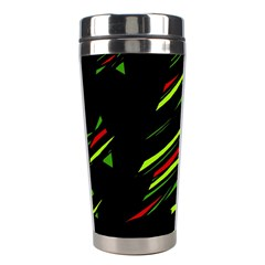 Abstract Christmas tree Stainless Steel Travel Tumblers