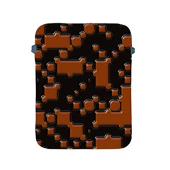 Brown Pieces                                                                                                 apple Ipad 2/3/4 Protective Soft Case