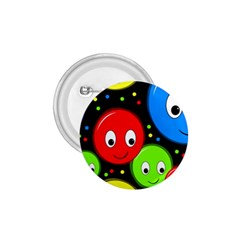 Smiley faces pattern 1.75  Buttons