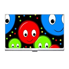 Smiley faces pattern Business Card Holders