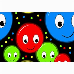 Smiley faces pattern Collage Prints