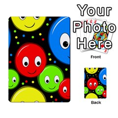 Smiley faces pattern Multi-purpose Cards (Rectangle)