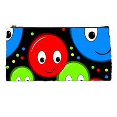 Smiley faces pattern Pencil Cases