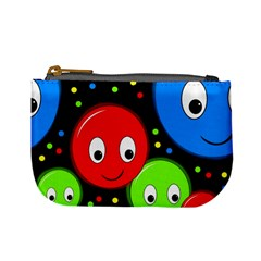 Smiley faces pattern Mini Coin Purses