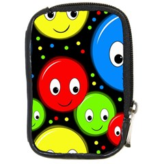 Smiley faces pattern Compact Camera Cases