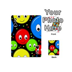Smiley faces pattern Playing Cards 54 (Mini)