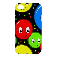 Smiley faces pattern Apple iPhone 4/4S Hardshell Case