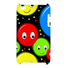 Smiley faces pattern Apple iPod Touch 4