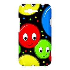 Smiley faces pattern HTC Rhyme