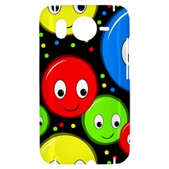Smiley faces pattern HTC Desire HD Hardshell Case