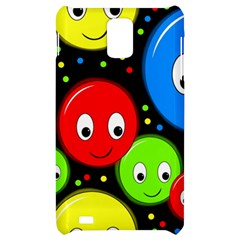 Smiley faces pattern Samsung Infuse 4G Hardshell Case