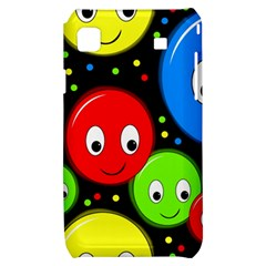 Smiley faces pattern Samsung Galaxy S i9000 Hardshell Case