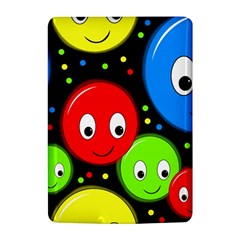 Smiley faces pattern Kindle 4