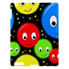 Smiley faces pattern Apple iPad 3/4 Hardshell Case