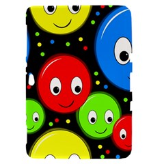 Smiley faces pattern Samsung Galaxy Tab 8.9  P7300 Hardshell Case