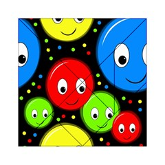 Smiley faces pattern Acrylic Tangram Puzzle (6  x 6 )