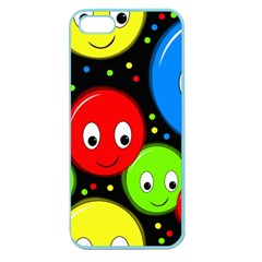 Smiley faces pattern Apple Seamless iPhone 5 Case (Color)