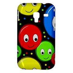 Smiley faces pattern Samsung Galaxy Ace Plus S7500 Hardshell Case