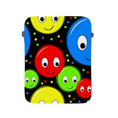 Smiley faces pattern Apple iPad 2/3/4 Protective Soft Cases