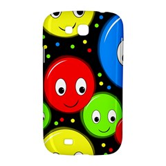 Smiley faces pattern Samsung Galaxy Grand GT-I9128 Hardshell Case