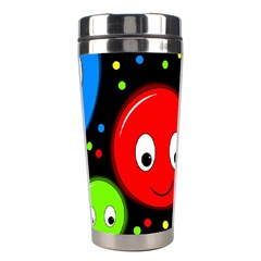 Smiley faces pattern Stainless Steel Travel Tumblers