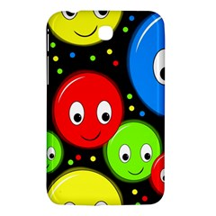 Smiley faces pattern Samsung Galaxy Tab 3 (7 ) P3200 Hardshell Case