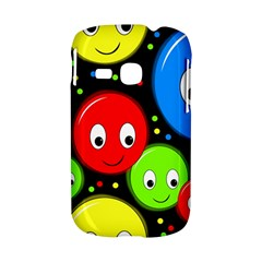 Smiley faces pattern Samsung Galaxy S6310 Hardshell Case