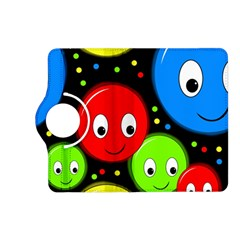 Smiley faces pattern Kindle Fire HD (2013) Flip 360 Case