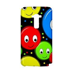 Smiley faces pattern LG G Flex