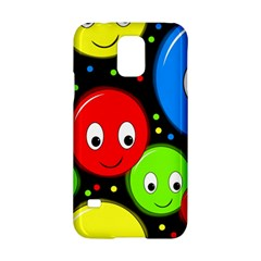 Smiley faces pattern Samsung Galaxy S5 Hardshell Case