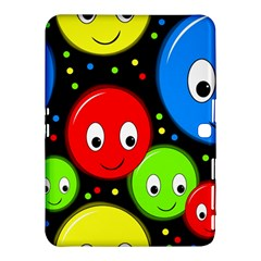 Smiley faces pattern Samsung Galaxy Tab 4 (10.1 ) Hardshell Case