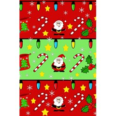 Christmas pattern - green and red 5.5  x 8.5  Notebooks