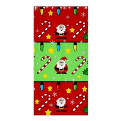 Christmas pattern - green and red Shower Curtain 36  x 72  (Stall)