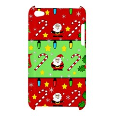 Christmas pattern - green and red Apple iPod Touch 4