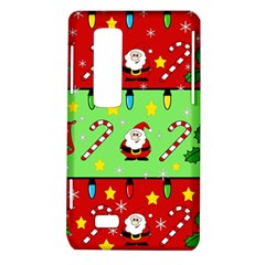 Christmas pattern - green and red LG Optimus Thrill 4G P925
