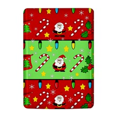 Christmas pattern - green and red Kindle 4