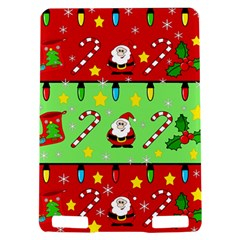 Christmas pattern - green and red Kindle Touch 3G