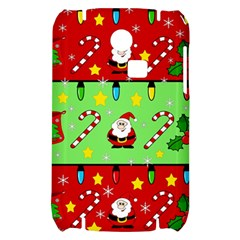 Christmas pattern - green and red Samsung S3350 Hardshell Case