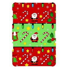 Christmas pattern - green and red Samsung Galaxy Tab 10.1  P7500 Hardshell Case