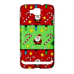 Christmas pattern - green and red Samsung Ativ S i8750 Hardshell Case