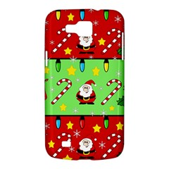 Christmas pattern - green and red Samsung Galaxy Premier I9260 Hardshell Case