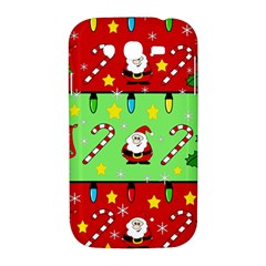Christmas pattern - green and red Samsung Galaxy Grand DUOS I9082 Hardshell Case