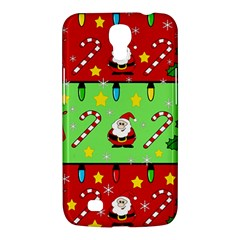 Christmas pattern - green and red Samsung Galaxy Mega 6.3  I9200 Hardshell Case