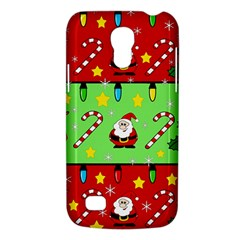Christmas pattern - green and red Galaxy S4 Mini