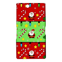 Christmas pattern - green and red Sony Xperia Z Ultra