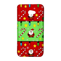 Christmas pattern - green and red HTC Butterfly S/HTC 9060 Hardshell Case