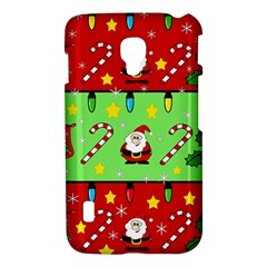 Christmas pattern - green and red LG Optimus L7 II