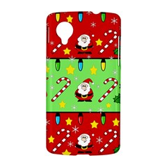 Christmas pattern - green and red LG Nexus 5