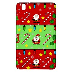 Christmas pattern - green and red Samsung Galaxy Tab Pro 8.4 Hardshell Case