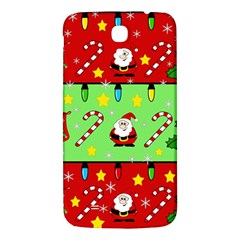 Christmas pattern - green and red Samsung Galaxy Mega I9200 Hardshell Back Case
